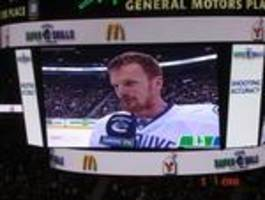 daniel sedin hit draws moronic remarks from hartley, brian burke