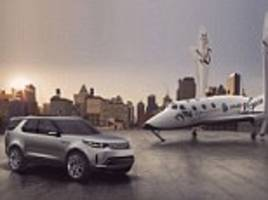 sir richard branson and virgin galactic announce stellar tie-in with land rover