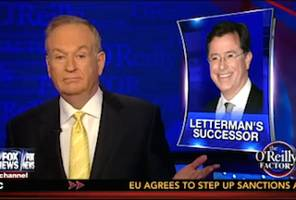 Bill O'Reilly Doubts Colbert Will Get Any Conservative Viewers on CBS