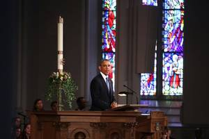 Full text of President Obama's statement on Marathon anniversary