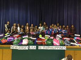Girl Scouts Gather 699 Backpacks for Filipino Counterparts