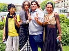 India's Supreme Court recognises transgender people as a 'third gender' as it calls for an end to discrimination